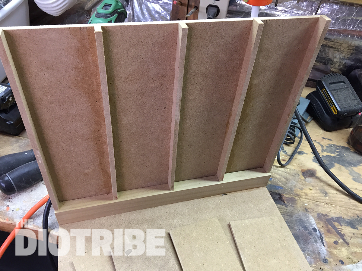 Build a diorama with MDF wood