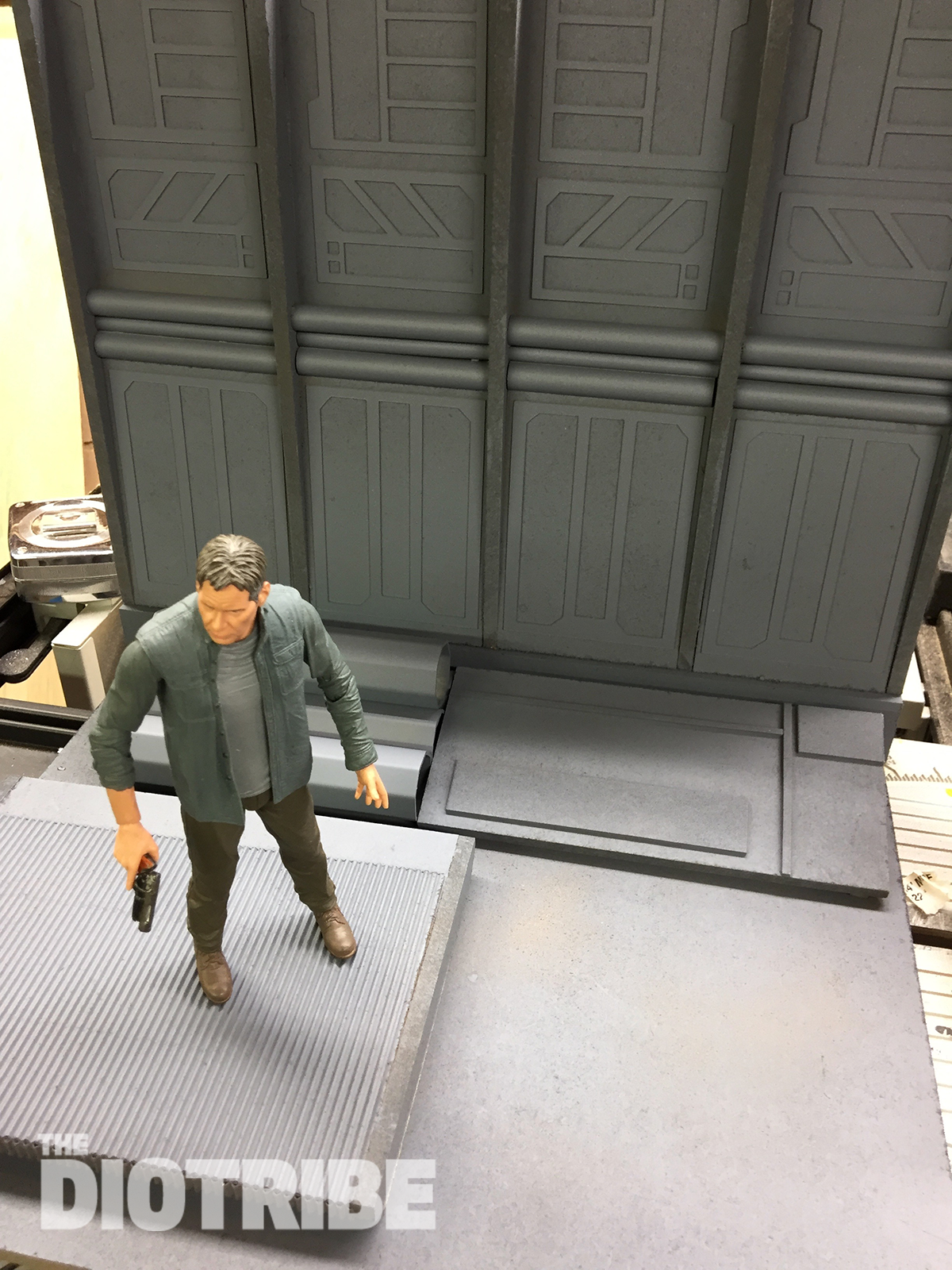 Diorama for action figures