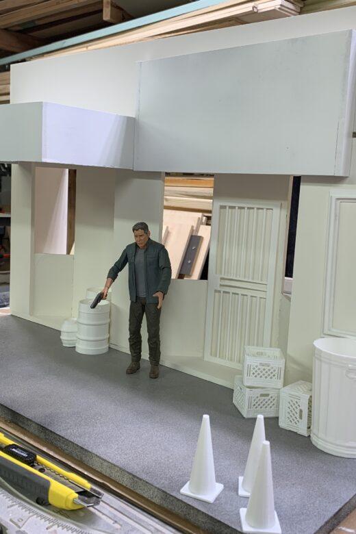 diorama building painting technique