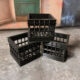 3D printed milk crates for 1:12 scale action figures