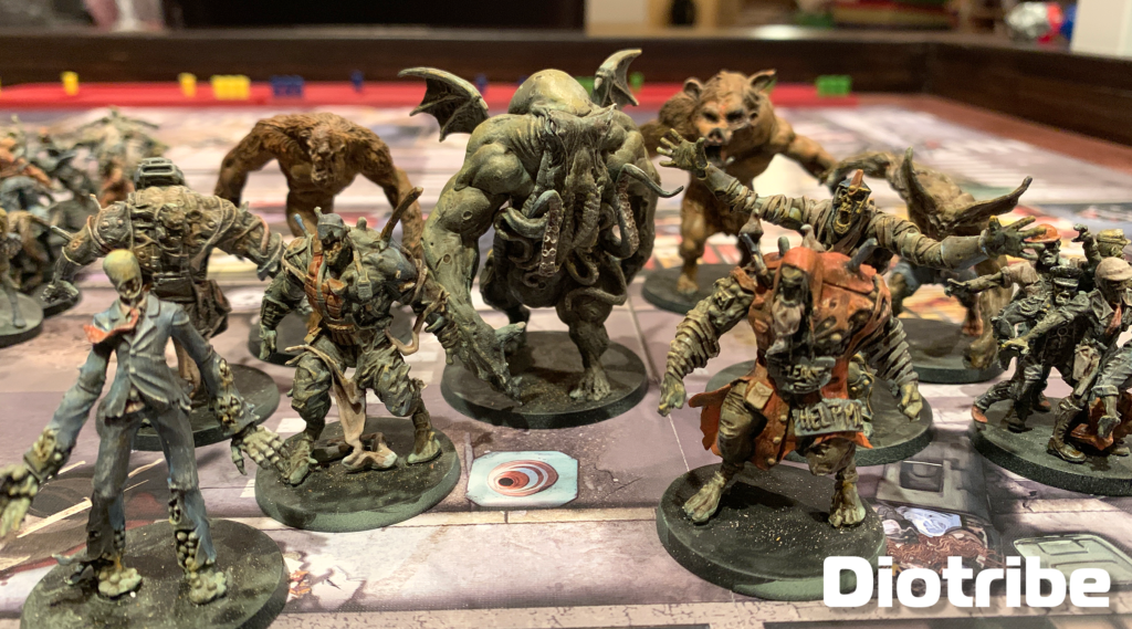 Tips and techniques for painting CMON Zombicide miniatures